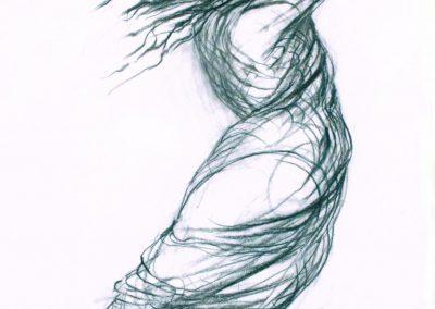 Entwurfszeichnung zu Pandora in Markgröningen