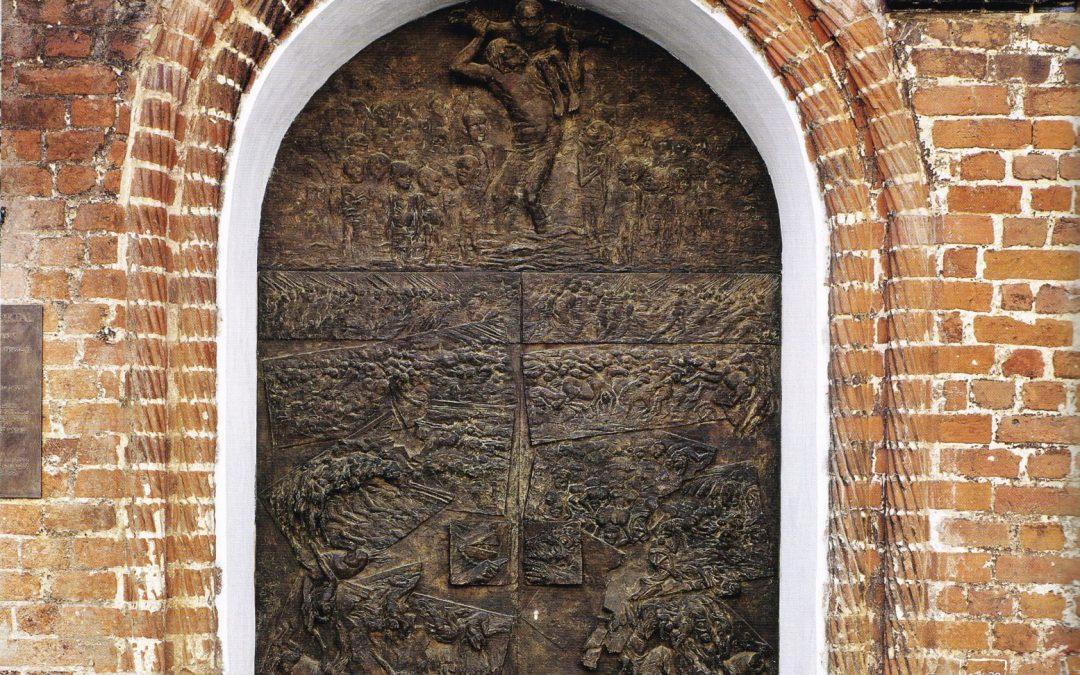 Wismar: Portal der St.-Georgenkirche