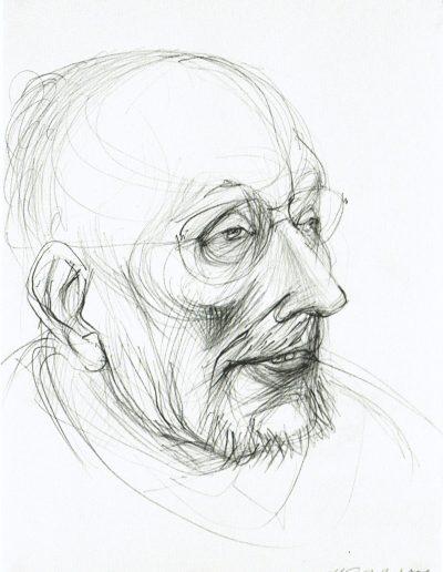 Porträtzeichnung W.T. Josenhans