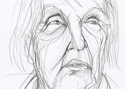 Karl-Henning Seemann: Porträt Rosemarie Zeisberger