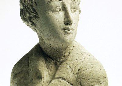 Gipsmodell Porträtbüste Georg Büchner