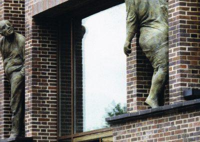 Hamburg: Fassadenausschnitt Brahms-Kontor