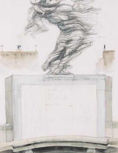 Dresdener Flut (Zeichnung)