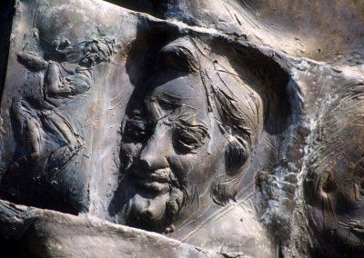 Dresden: Geschichtsspirale (Detail)