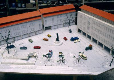 Dresden: Niedersedlitzer Platz (Modell)