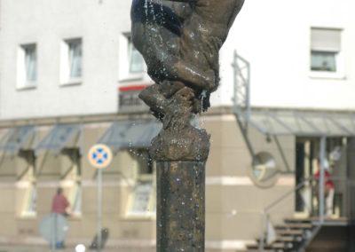 Zusammenfluss von Neckar und Enz