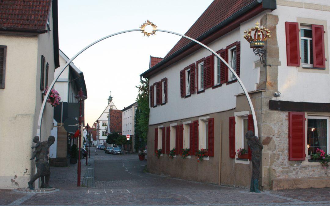 Löchgau: Ortstor