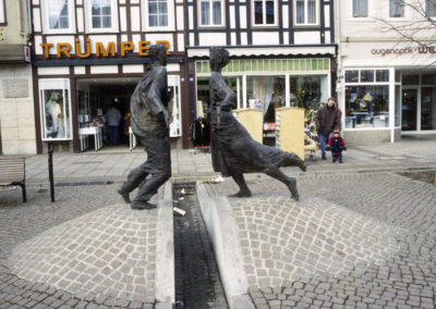 Duderstadt: Wiedervereinigungsbrunnen