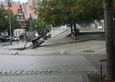 Karl-Henning Seemann: Flößerbrunnen in Bissingen