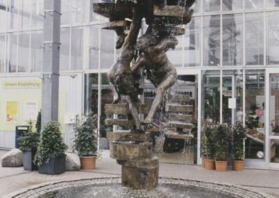 Heilbronn-Neckargartach: Pflanzen-Brunnen